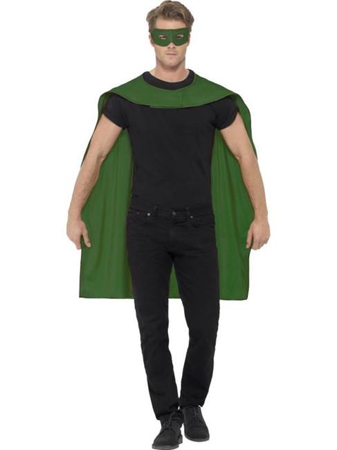 Cape, Halloween Fancy Dress, GREEN