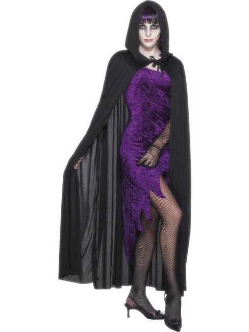 Hooded Vampire Cape.  One Size