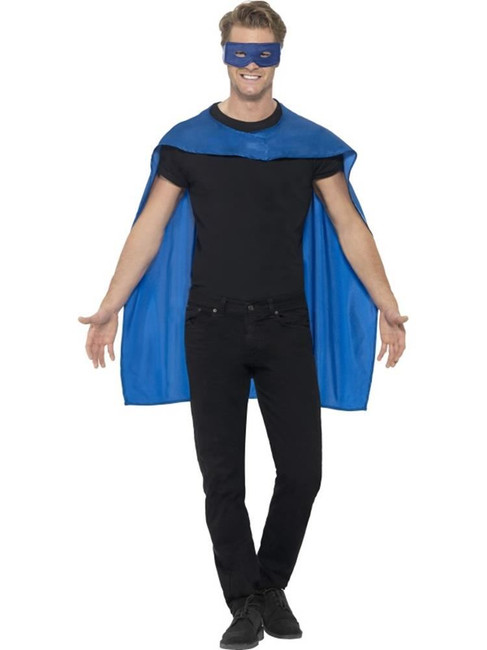 Cape, Halloween Fancy Dress, BLUE