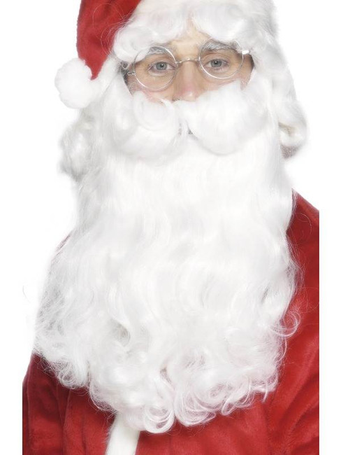 Deluxe Santa Beard, One Size