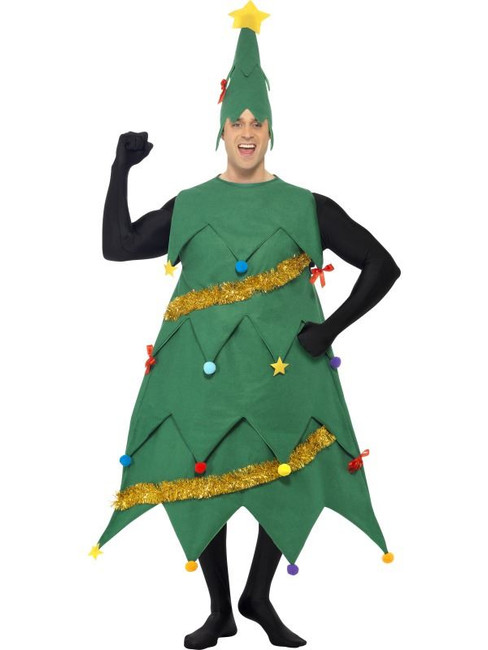 New Deluxe Christmas Tree Costume, One Size