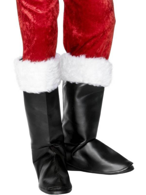 Santa Boot Covers.  One Size