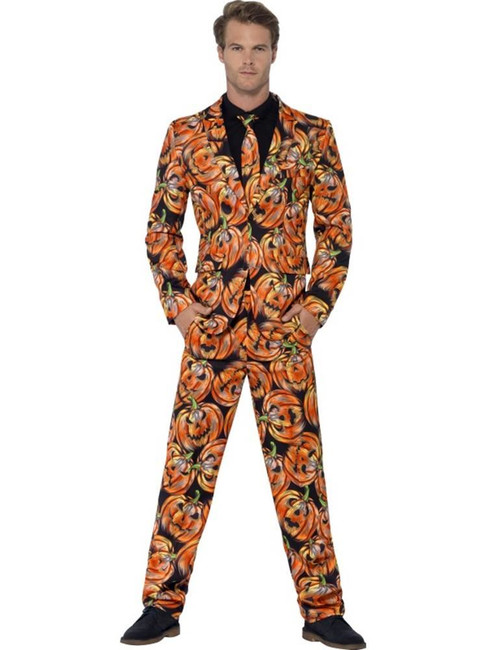 Pumpkin Suit, XL, Halloween Fancy Dress, Mens