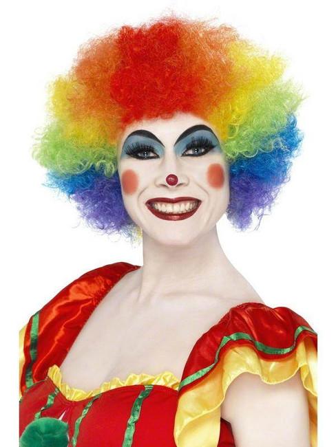 Pop Wig Rainbow Colours.