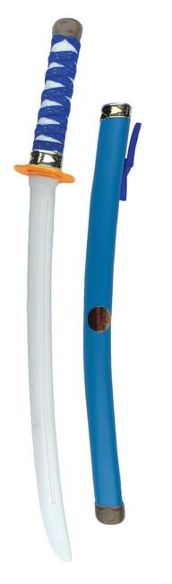Blue Ninja Warrior Sword, Fancy Dress Accessory/Toy