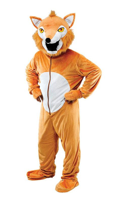 FOX COSTUME (BIG HEAD), UNISEX ANIMAL FANCY DRESS COSTUME