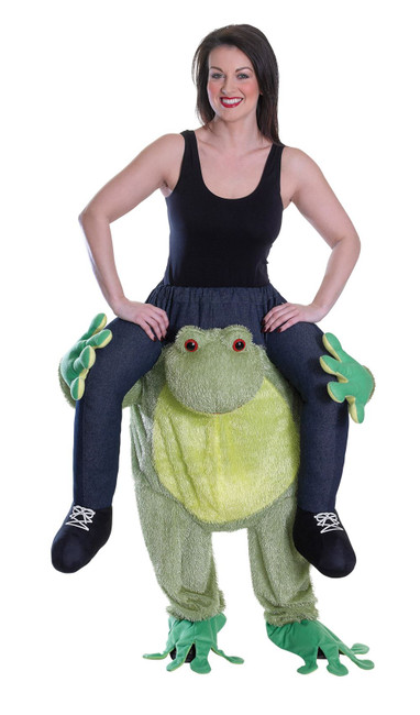 Piggy Back Frog, Unisex, Novelty Fancy Dress