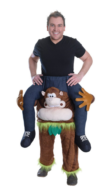 Piggy Back Monkey, Unisex, Novelty Fancy Dress