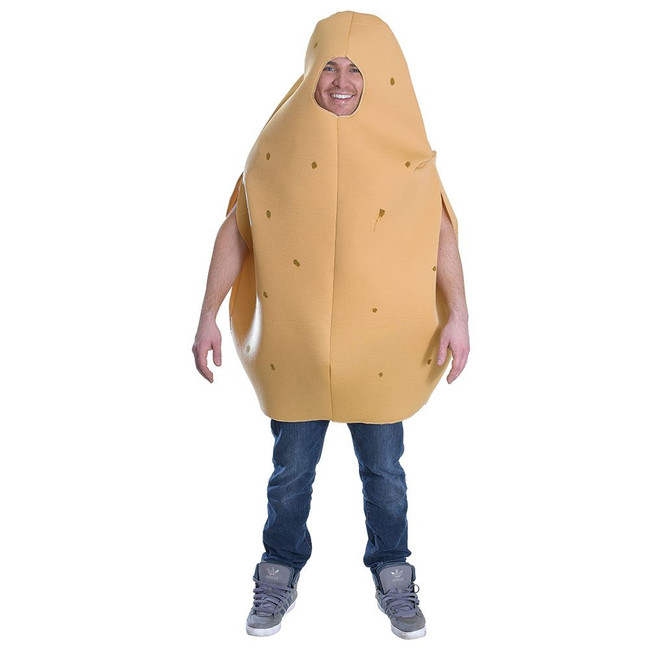 POTATO COSTUME, HALLOWEEN FANCY DRESS COSTUME, ONE SIZE