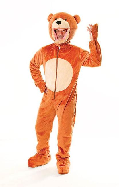 Teddy Bear Costume (Big Head), Fancy Dress, Mascot
