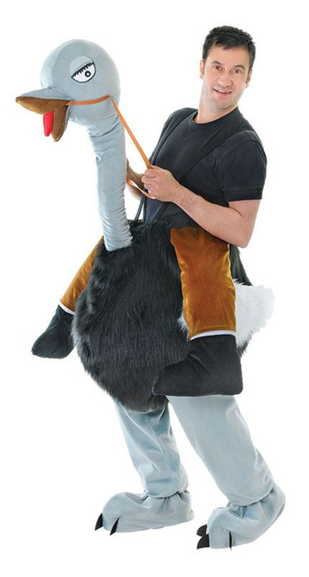 STEP IN OSTRICH UNISEX COSTUME, ADULT COSTUMES, FANCY DRESS