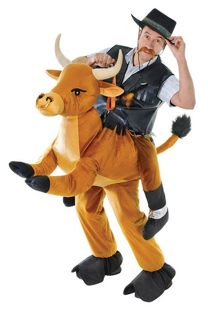 STEP IN BULL UNISEX COSTUME, ADULT COSTUMES, FANCY DRESS