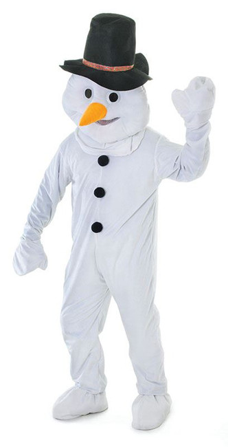 SNOWMAN WITH BIG HEAD, UNISEX, ADULT COSTUMES, FANCY DRESS