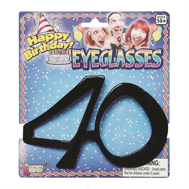 Birthday Glasses 40