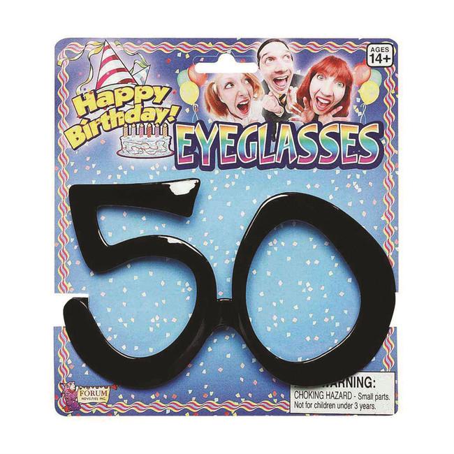 Birthday Glasses 50