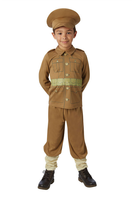 WW1 Soldier Boy , Large (7-8 yrs)