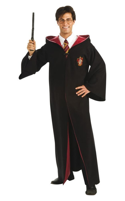 Deluxe Harry Potter Robe Costume, Fancy Dress, STD