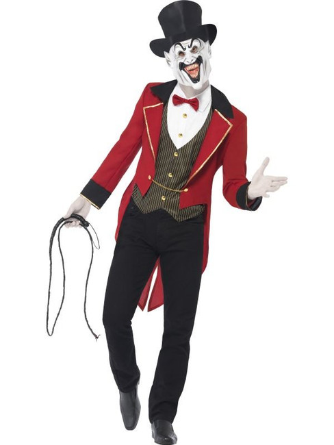 Sinister Ringmaster Costume, Medium