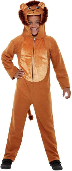 Lion Costume, Boys/Girls/Unisex Fancy Dress, Medium Age 7-9