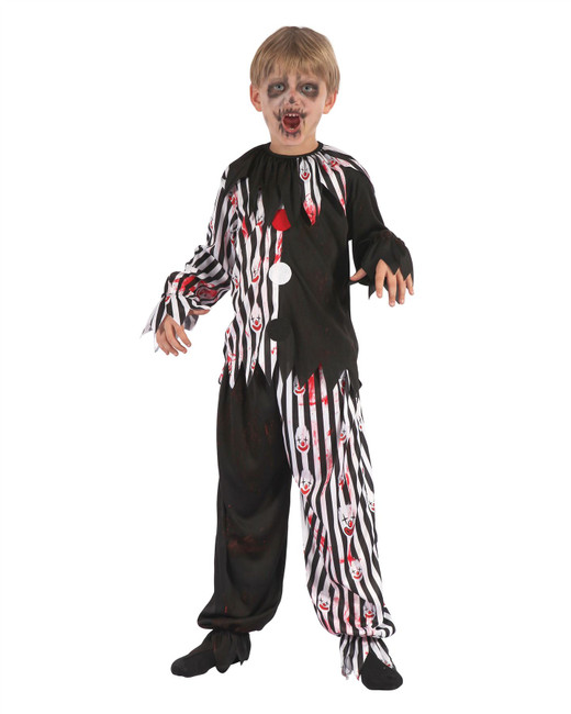 Harlequin Clown Bloody, Large