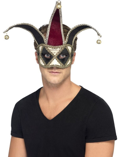 Gothic Venetian Harlequin Eyemask, Halloween Fancy Dress