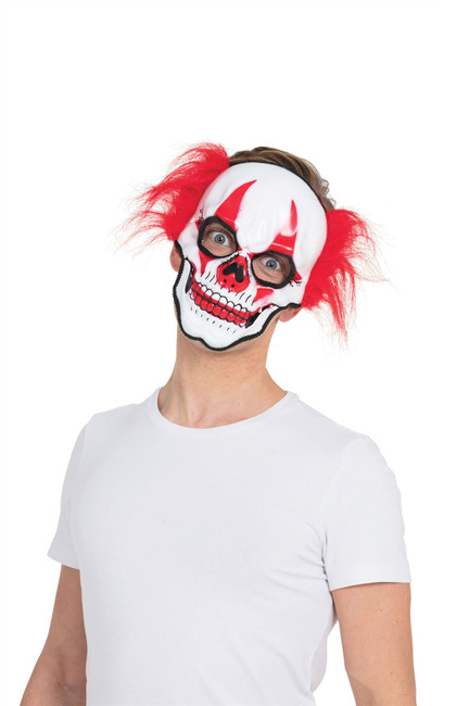 Horror Clown Skull Mask (Glasses Frame)
