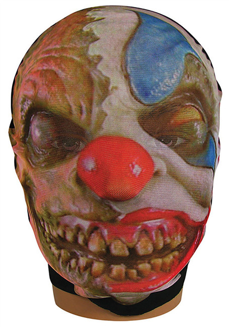 Skin Mask Evil Clown