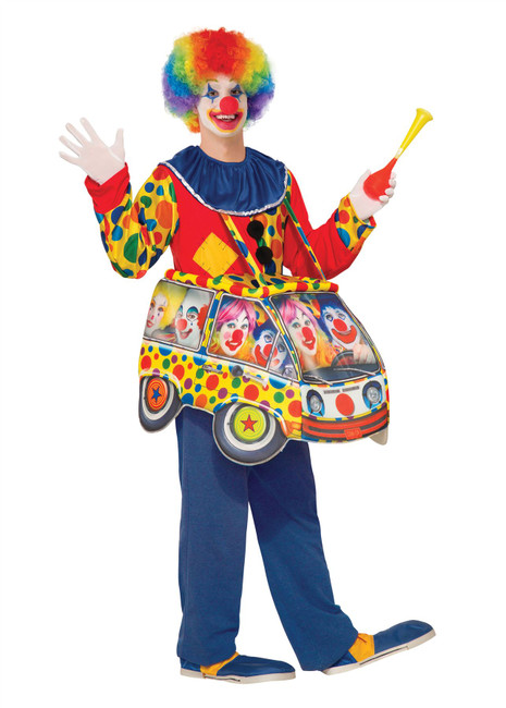 Clown Car Step In Costume