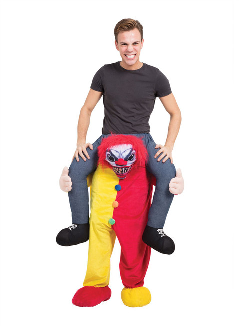 Scary Clown Piggy Back Costume