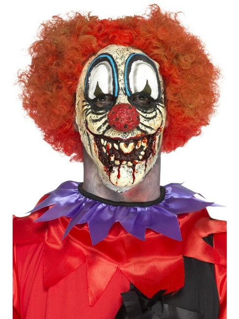 Deluxe Foam Latex Special FX Clown Prosthetic, Cosmetics and Disguises