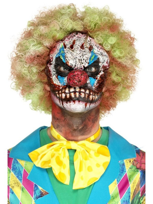 Red Foam Latex Clown Head Prosthetic, Cosmetics and Disguises