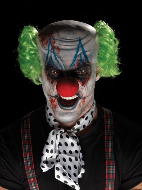 Sinister Clown Make-Up Kit, Adult Fancy Dress Costumes, MULTI