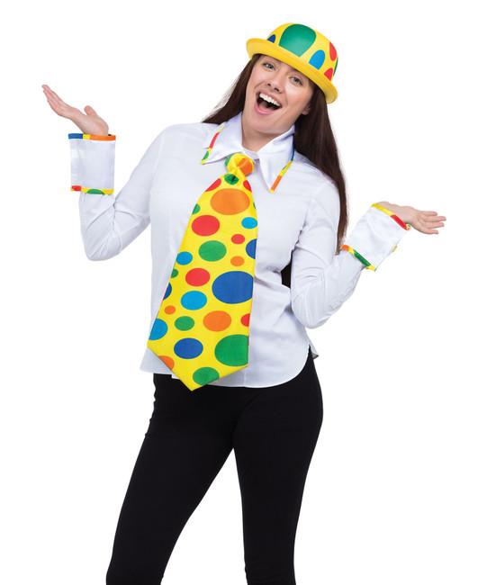 Clown Kit (Tie with Collar & Cuffs)
