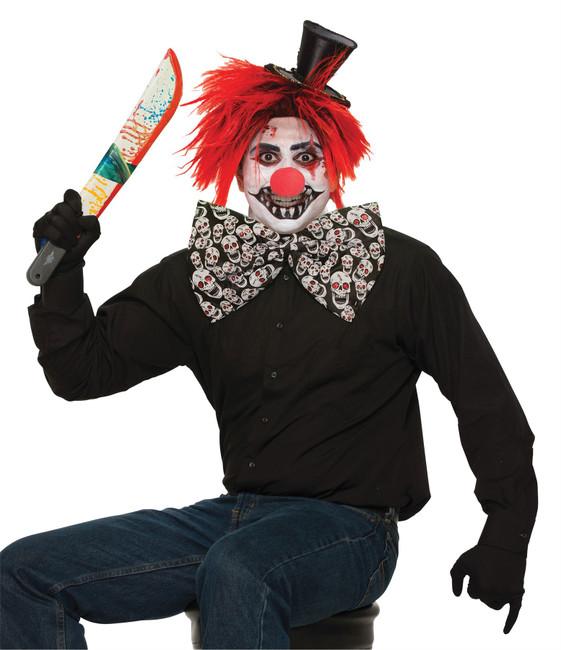 Evil Clown Jumbo Bow Tie