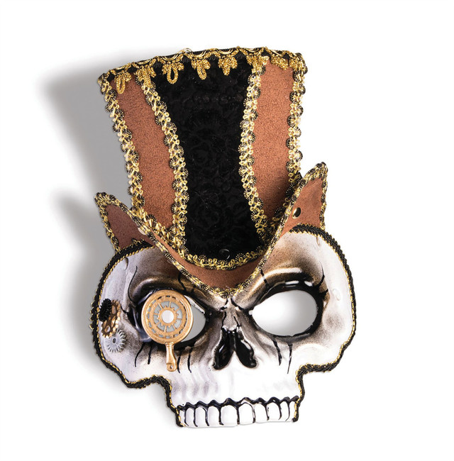 Steampunk Skull Mask (Glasses Frame)