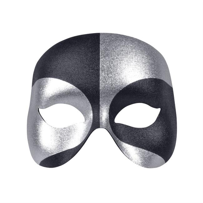 Voodoo Eye Mask Silver/Black