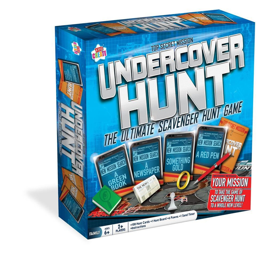 Undercover Hunt Board Game, Christmas Stocking Filler/Gift