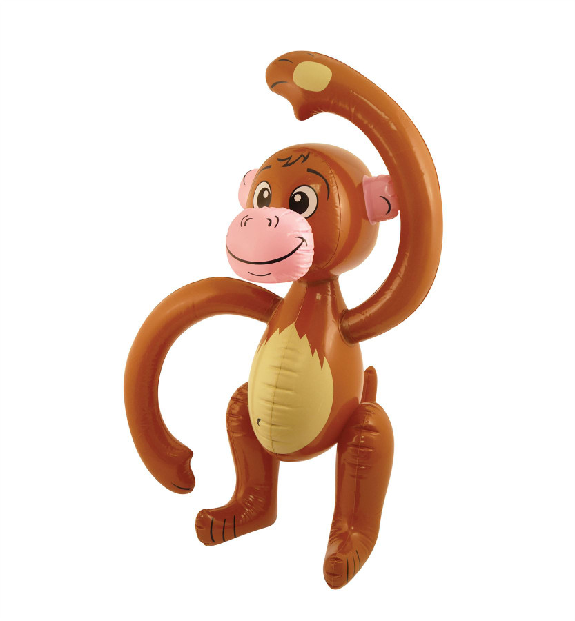 Inflatable Monkey (58cm)