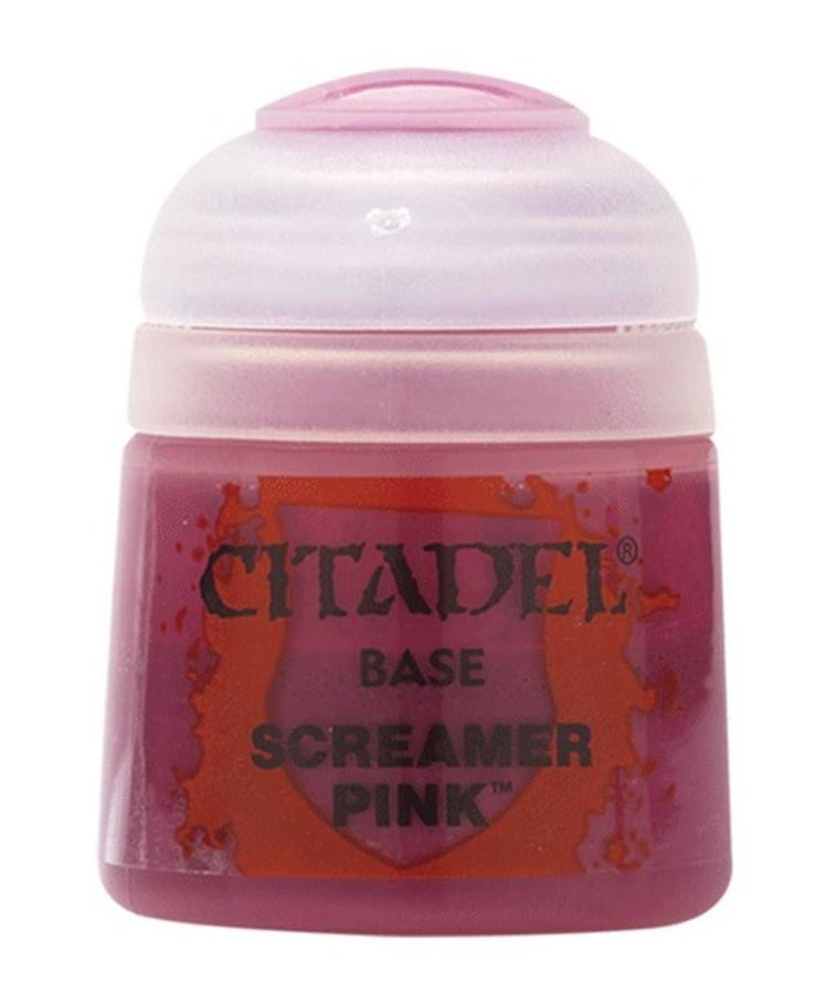 Screamer Pink, Citadel Paint - Base, Warhammer 40,000/Age of Sigmar