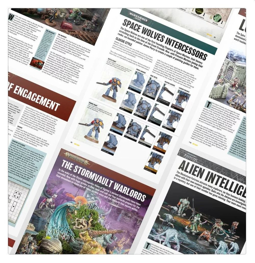 White Dwarf Magazine, Issue 452, March 2020, Warhammer 40,000 & Age of Sigmar