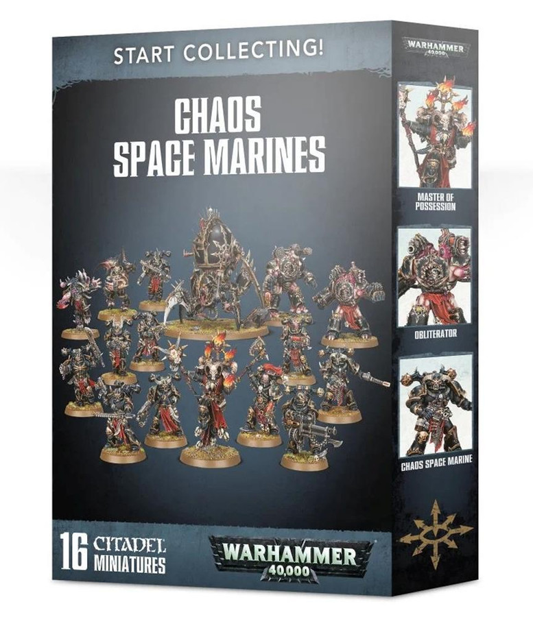 Start Collecting! Chaos Space Marines, Warhammer 40,000, 40k, Games Workshop