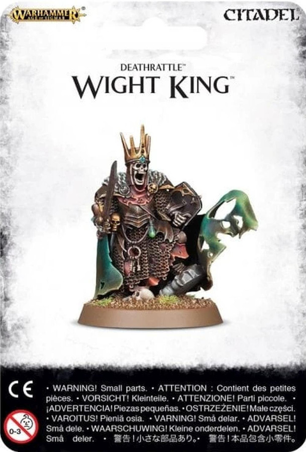 Deathrattle Wight King, Warhammer Age of Sigmar