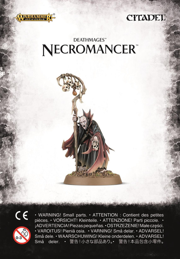 Deathmages Necromancer, Warhammer Age of Sigmar