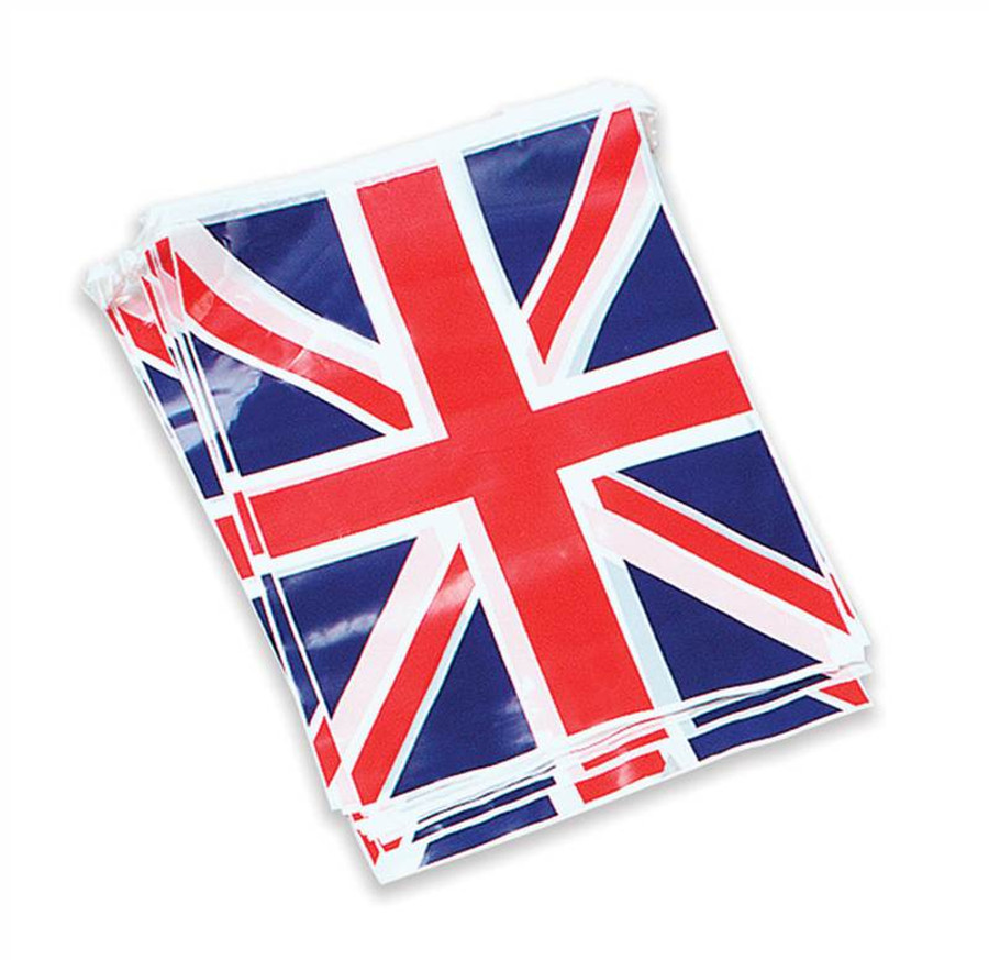 Union Jack Bunting 7M 25 Flags.