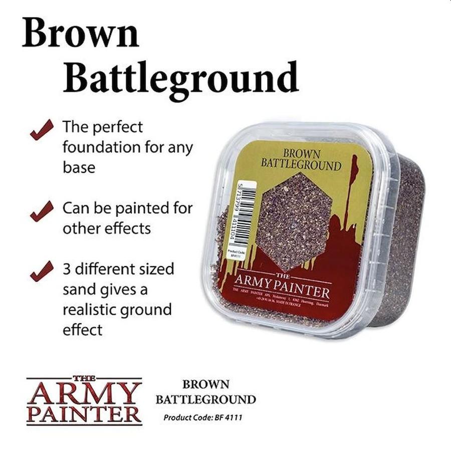 The Army Painter - Battlefields - Brown Battleground, Wargaming/Terrain/Scenery