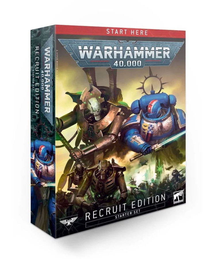 Warhammer 40,000:  Recruit (English), Starter Set