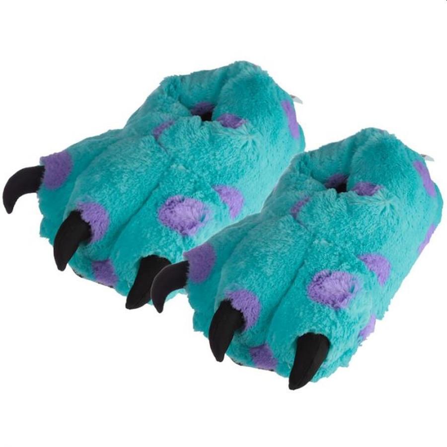 Monster Feet Plush Slippers (Unisex One Size)