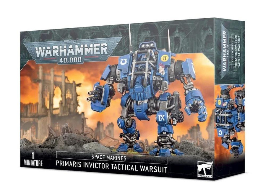 Space Marines: Primaris Invictor Tactical Warsuit, Warhammer 40,000