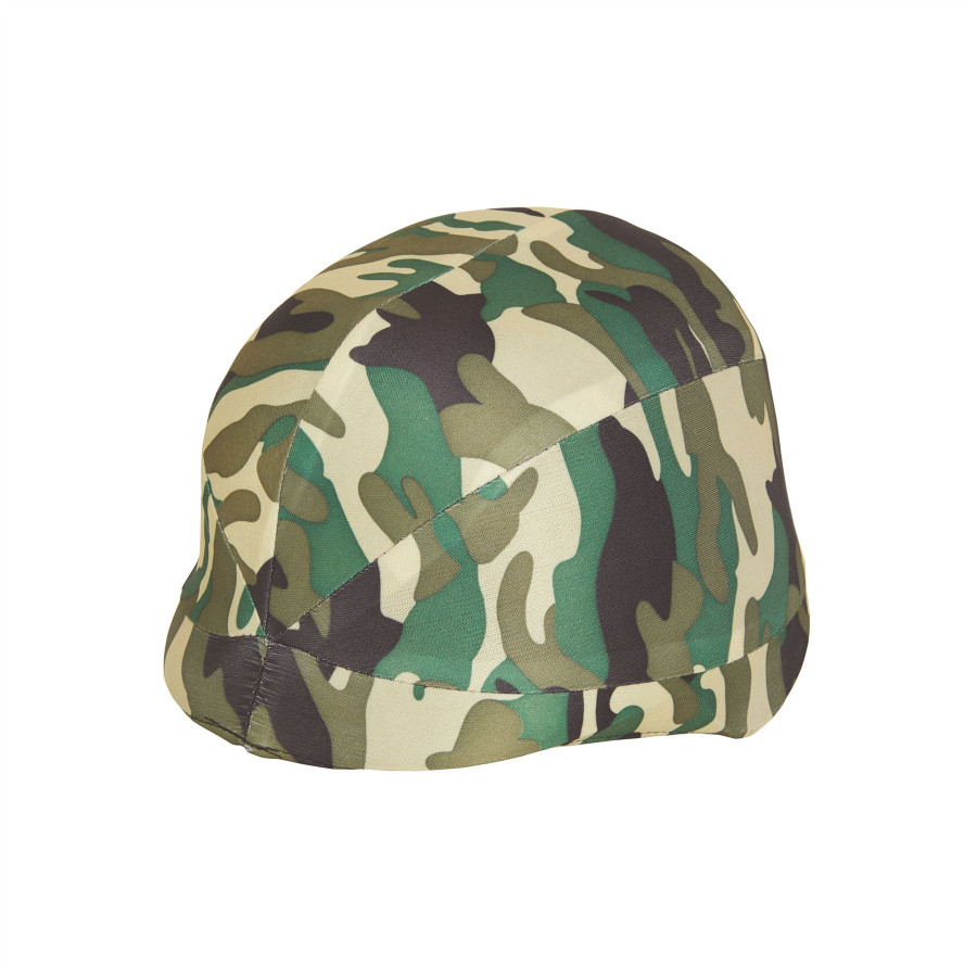 Camouflage Helmet Fabric Cover (Childs)
