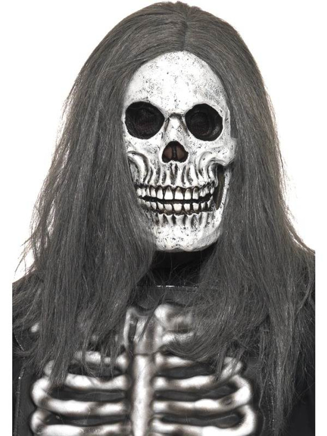 Sinister Skeleton Mask One Size Were Partying Now Ltd